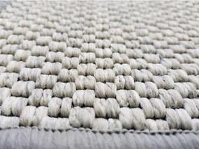 Vopi koberce Metrážový koberec Nature platina - Rozměr na míru bez obšití cm