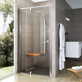 Sprchové dvere 110x190 cm Ravak Pivot chróm matný 03GD0U00Z1