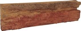 Obklad Vaspo Skála ohnivá oranžovočervená 8,6x38,8 cm V55100