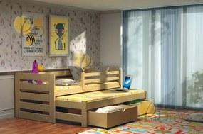 Veronika 7 180x80 posteľ s prístelkou
