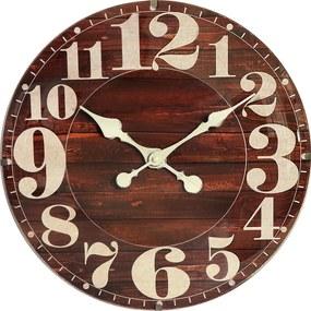 Nástenné hodiny drevené MPM E01.4058.50