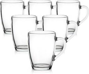Altom Sada sklenených hrnkov Classic 250 ml, 6 ks