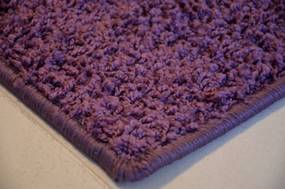 Vopi koberce Metrážový koberec Color Shaggy fialový - Rozměr na míru bez obšití cm