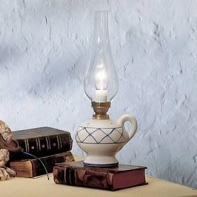 Stolná lampa Rustico vo vidieckom štýle