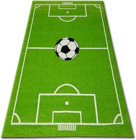 3kraft Detský koberec FUNKY BALL zelený