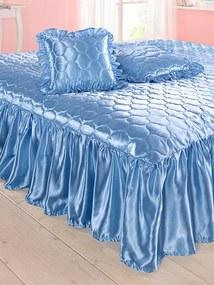 Prikrývka na posteľ Webschatz sv.modrá
