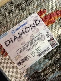 Spoltex koberce Liberec Kusový koberec Diamond New grey 20701-095 - 80x150 cm