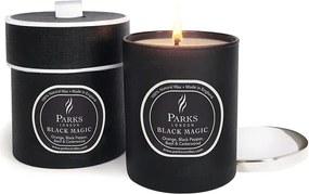 Sviečka s vôňou pomaranča, čierneho korenia a cédra Parks Candles London Magic, 45 hodín horenia