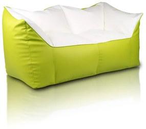 INTERMEDIC Sedací vak SOFA XXL, ekokoža - E16 - Zelená  olivová svetlá (Ekokoža)