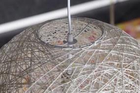 Bighome - Visiaca lampa VOLANS - biela
