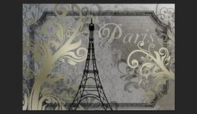 Fototapeta Bimago - Vintage Paris + lepidlo zadarmo 400x280 cm