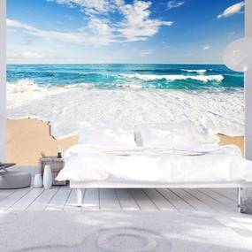 Fototapeta - Tyrkysová pláž 200x140 + zadarmo lepidlo