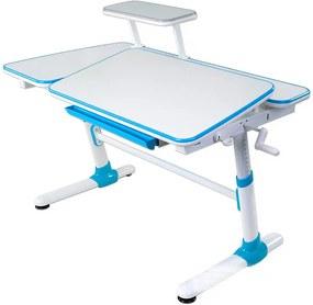 FD Rastúci písací stôl Inverto - 3 farby Farba: Modrá