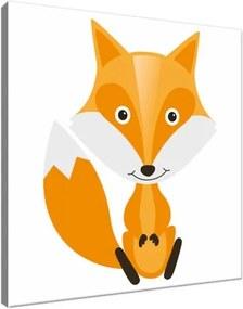 Obraz na plátne Oranžová líška 30x30cm 2803A_1AI