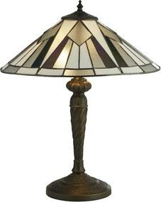 Searchlight EU6075-42 Gatsby stolová lampa E27 2 x 60W