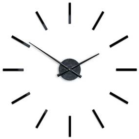 Mazur 3D nalepovacie hodiny Solo čierne