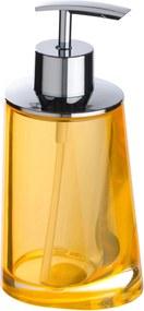 WENKO Dávkovač mydla PARADISE oranžový (z20237100) 6,6x16,3x8 cm