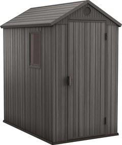 Keter - Záhradný domček DARWIN 4x6 šedý