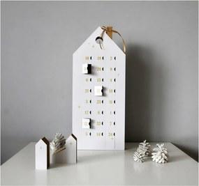 Adventný kalendár so zlatými detailmi Unlimited Design for kids