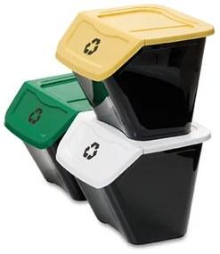 Kôš na triedený odpad Ecobin 30 l, 3 ks