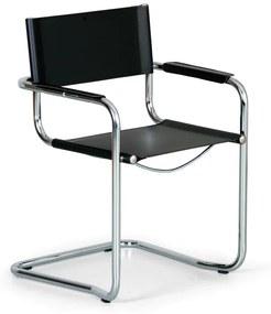 Kožená konferenčná stolička MISTA