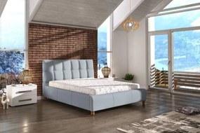 Dizajnová posteľ Layne 160 x 200 - 4 farebné prevedenia