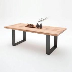 Jedálenský stôl Castello dub divoký antracit js-castello-dub-divoky-antracit-2534