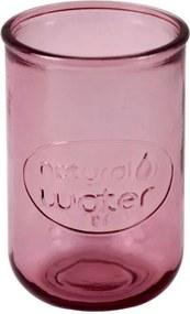 Ružový pohár z recyklovaného skla Esschert Design Water, 0,4 l