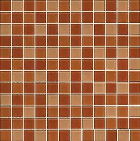 Sklenená mozaika Premium Mosaic béžová 30x30 cm lesk MOS25MIX8