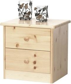 Sconto Nočný stolík ROLAND borovica