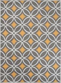 Kusový koberec PP Peny žltý, Velikosti 80x150cm