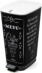 KIS CHIC BIN L 60L odpadkový kôš 29x44,5x60,5cm coffee menu