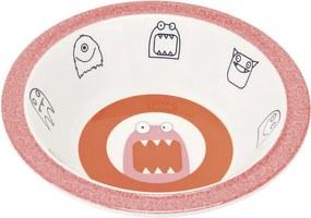 LÄSSIG - detská mištička, Bowl with Silicone Little Monsters mad mabel