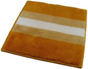 ROUTNER Kúpeľňová predložka BARLETTA Žltá 10705 - Žltá / 60 x 60 cm 10705