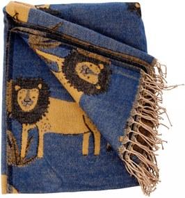 rice Detská deka Lion 125x150cm