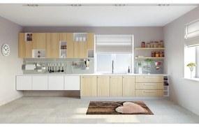 Vysokoodolný kuchynský koberec Webtappeti Cour, 60 x 115 cm