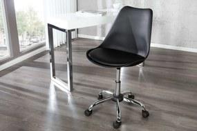 Kancelárska stolička Sweden čierna
