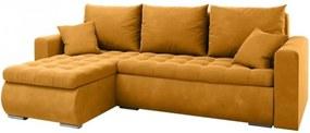 PROXIMA.store - Rohový rozkladací gauč - LUIS - farba na mieru