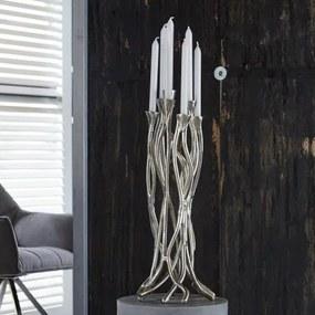 Svietnik 31-40 Vintage aluminium-Komfort-nábytok