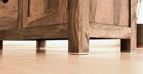 Bighome - GREY WOOD Príborník 148x90 cm, palisander