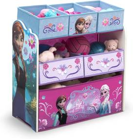 Organizér na hračky - Ľadové kráľovstvo - 6 boxov frozen TB84986FZ