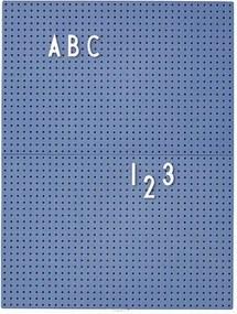 Design Letters Tabuľa Message Board A4, blue