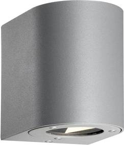 CANTO |  dizajnová vonkajšia nástenná lampa IP44 Farba: Sivá