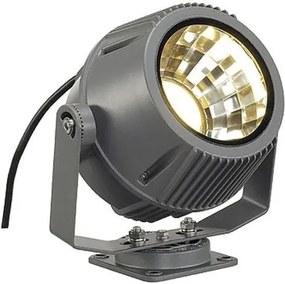 Vonkajšie priemyselné svietidlo SLV FLAC BEAM LED kamenná šedá 231092