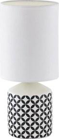 Rabalux 4398 Sophie stolná lampa, čierna