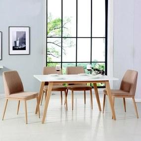 Jedálenský set 4x stolička + stôl Catini STOCKHOLM