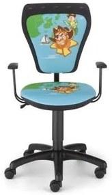 NOWY STYL Detská otočná stolička MINISTYLE PIRATE