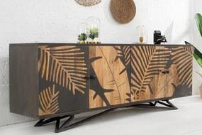 Dizajnová komoda Leland 175 cm mango