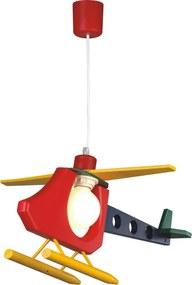 Detské závesné svietidlo - Vrtuľník