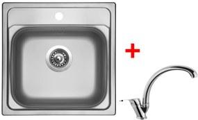 Set Sinks MANAUS 480 V matný + batéria EVERA